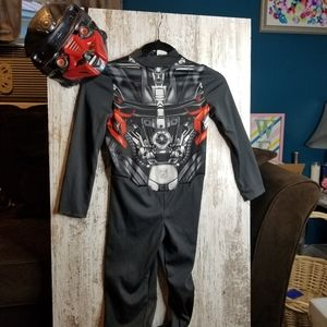 Kids Transformers Costume Size Small 4-6